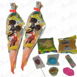 Cone bag mikie stuffed sweets 20 units