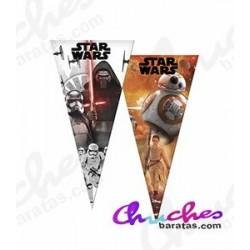 Cone bag star wars 40 cm x 20 cm 50 units