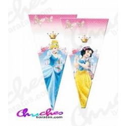50 Bolsas cono princesas adventure 40x20